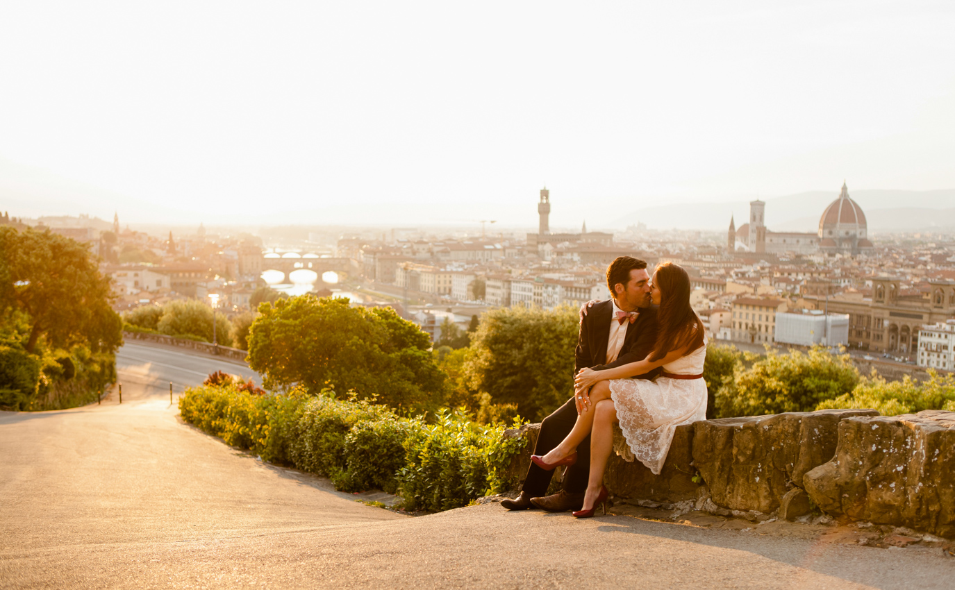 Marriage Proposal in Florence